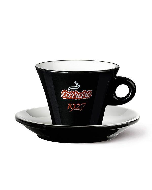 Black Cappuccino Cup