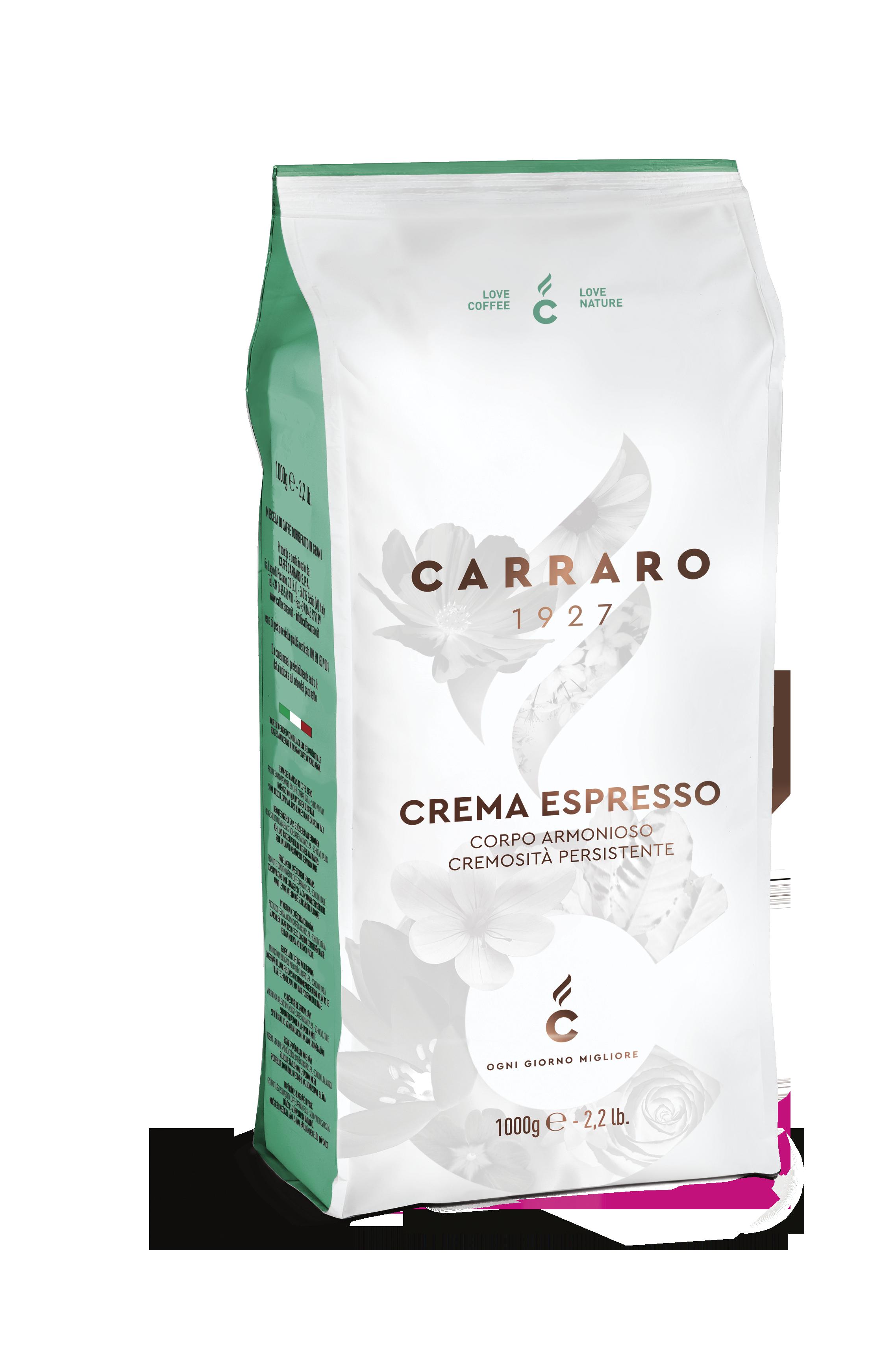 Carraro_1000g_horeca premium_crema espresso