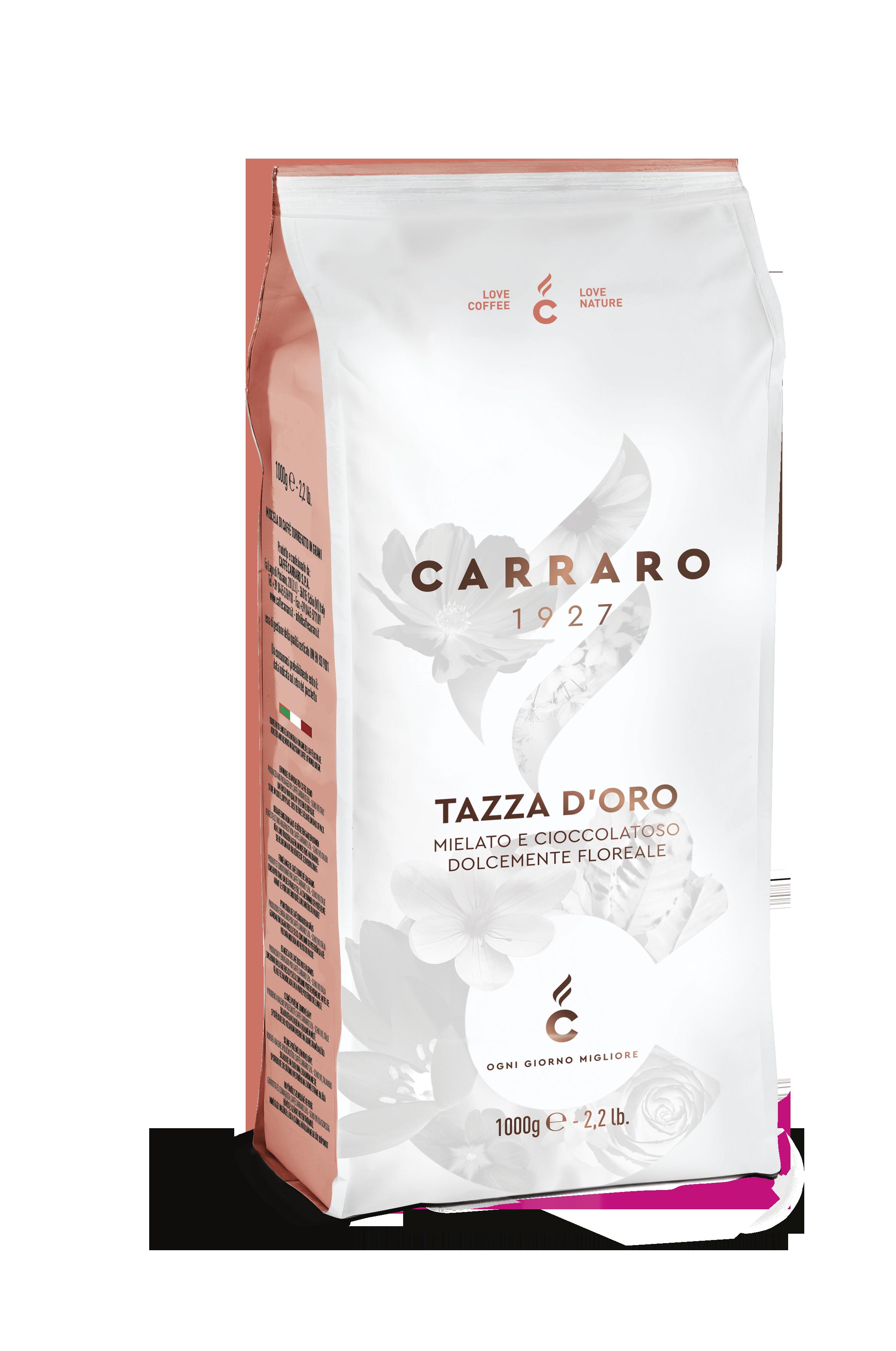Carraro_1000g_horeca premium_tazza d'oro